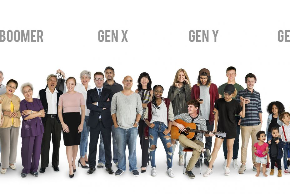 bigstock Diversity Generations People