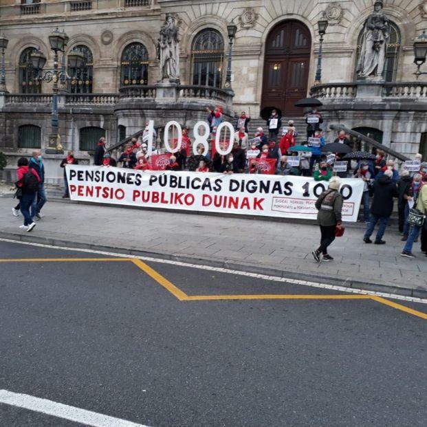 Los pensionistas vascos preparan una gran movilización el 31 de octubre