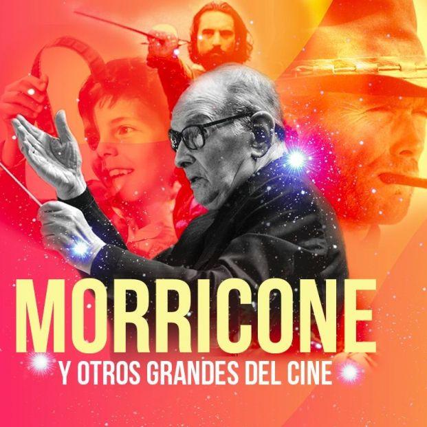 'Homenaje a Morricone y otros grandes del cine', en el Auditorio Nacional de Música