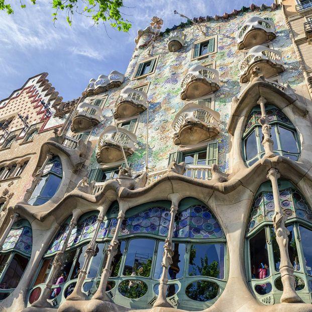 Gaudí en huelga: la CasaGaudí, en huelga: la Casa Batlló se suma al paro en la Sagrada Familia Batlló se suma al paro en la Sagrada Familia