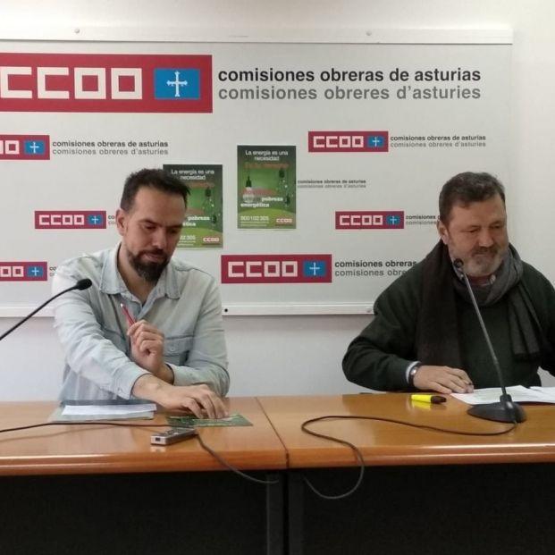 CCOO Asturias. Foto: Europa Press