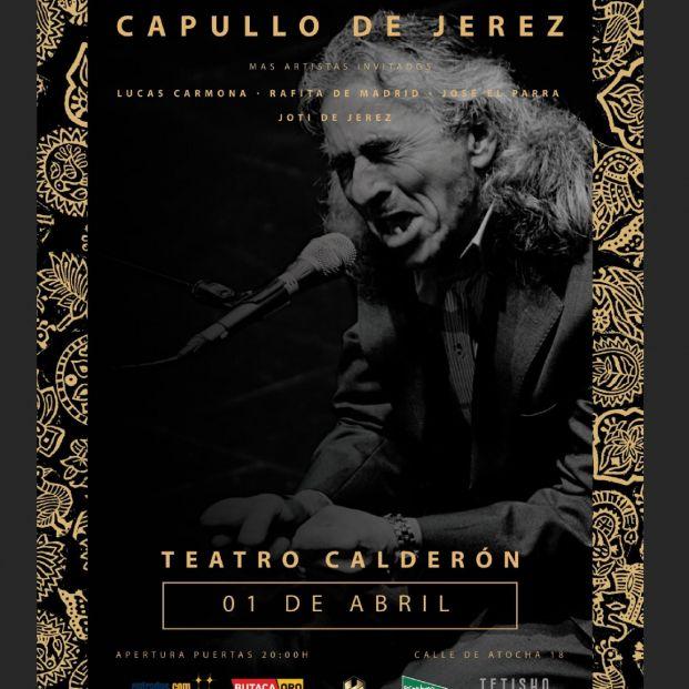 Capullo de Jerez en el Teatro Calderón de Madrid