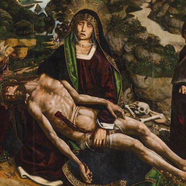 'La piedad Desplá' de Bartolomé Bermejo