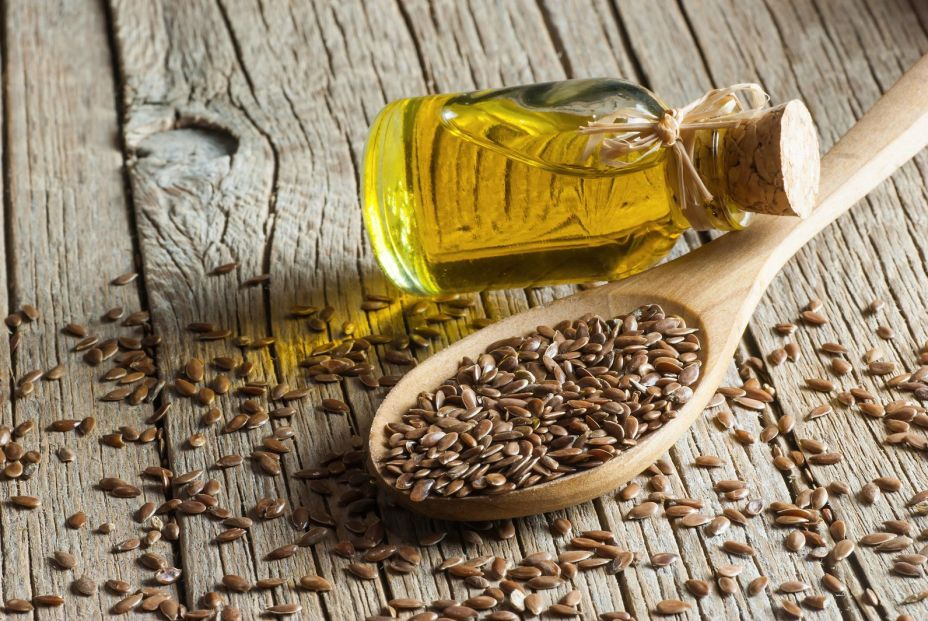 bigstock Heap Of Flax Seeds Or Linseeds 381986309