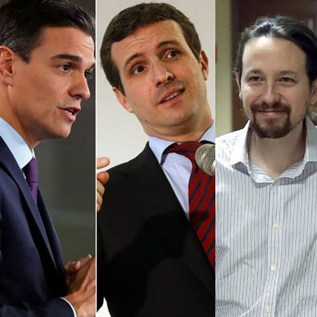 28A: Los líderes de los partidos rejuvenecen