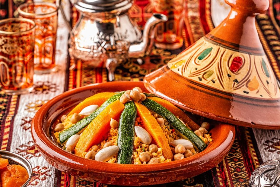 bigstock Vegetable Tagine With Almond A 295789531