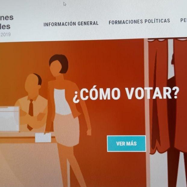 Interior pone en marcha su web informativa del 28A