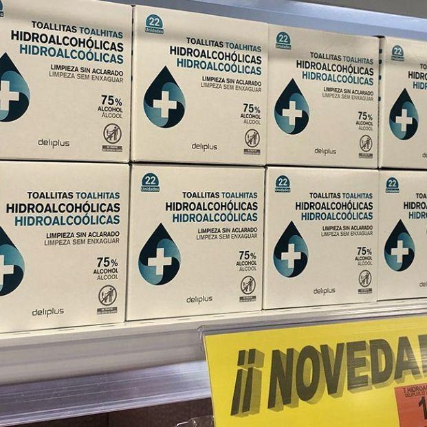 Así son las nuevas toallitas hidroalcohólicas de Mercadona por 0,90 euros
