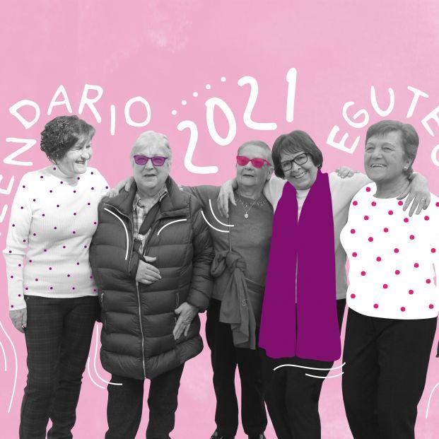 Las mujeres mayores, protagonistas del calendario 2021 del Ayuntamiento de Basauri