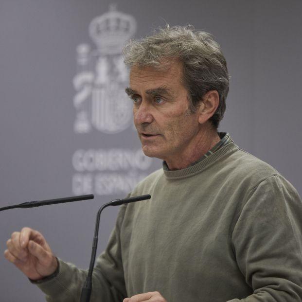 Fernando Simón no descarta el confinamiento por edades
