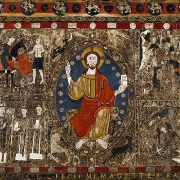 La historia del frontal románico del siglo XIII de una iglesia de Lérida que apareció en EEUU