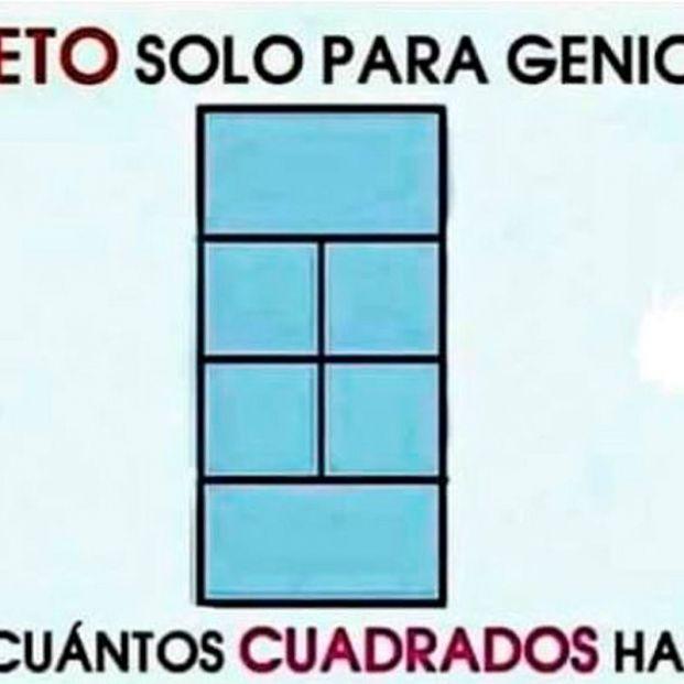 ¿Cuántos cuadrados hay?