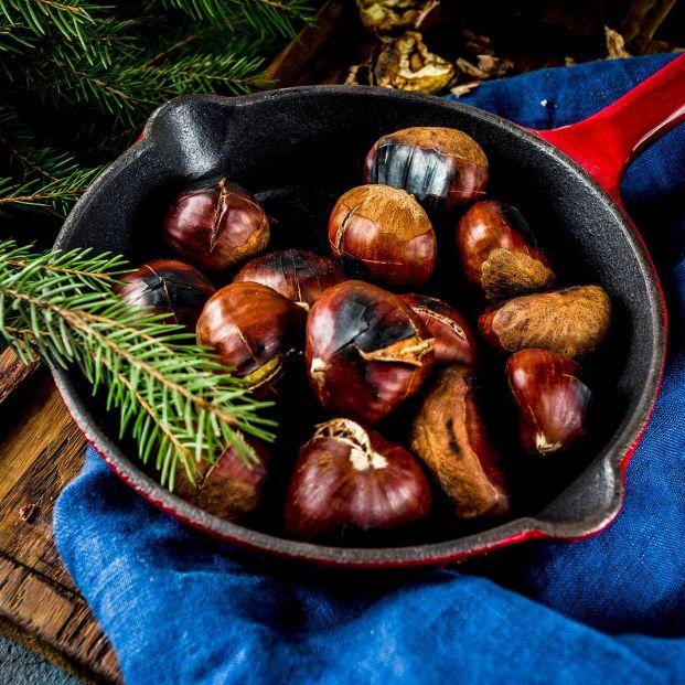 Tres métodos para asar castañas