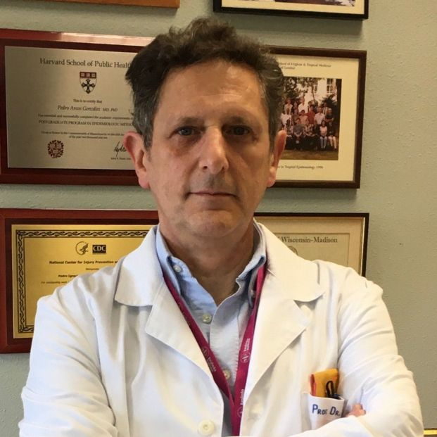 Epidemiólogo Pedro Arcos