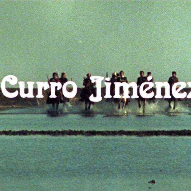 Portada de una de las series, 'Curro Jiménez' (RTVE)