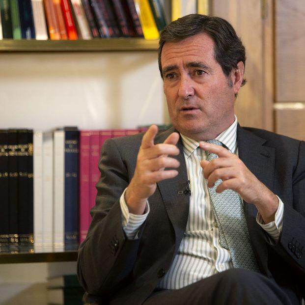 """Garamendi: """"Imponer planes de pensiones de empresa significaría más cargas y perder competitividad"""""""