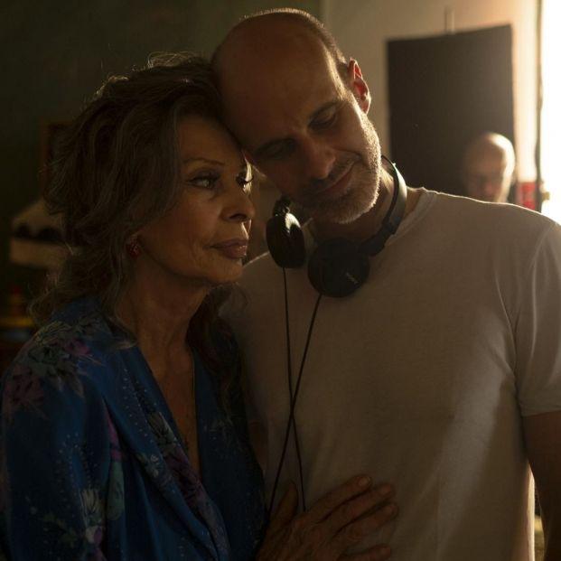 """Sophia Loren vuelve al cine en 'La vida por delante': """"Me encanta trabajar con mi hijo"""""""