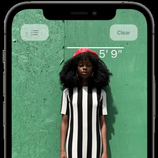 LiDAR, el sensor del iPhone con el que puedes medir tu altura