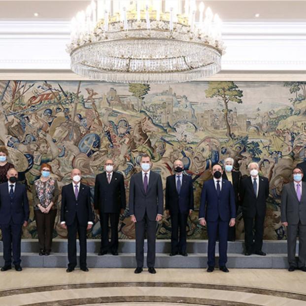 El Rey recibe en audiencia a la Junta Directiva de CEOMA con motivo de su XX Aniversario