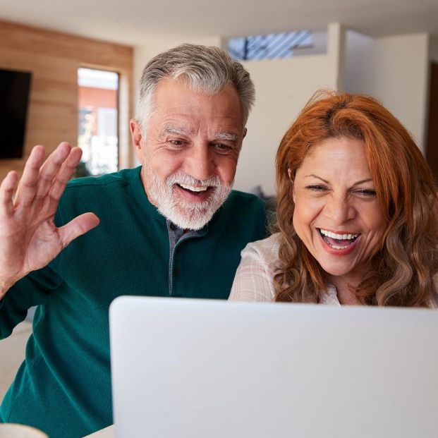 bigstock Senior Hispanic Couple At Home 366383041