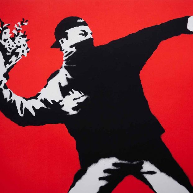 El misterioso y siempre polémico Banksy, en el Círculo de Bellas Artes de Madrid