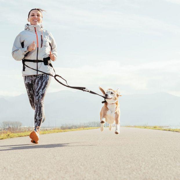 Canicross, conecta con tu perro a través de la práctica del running (big stock)