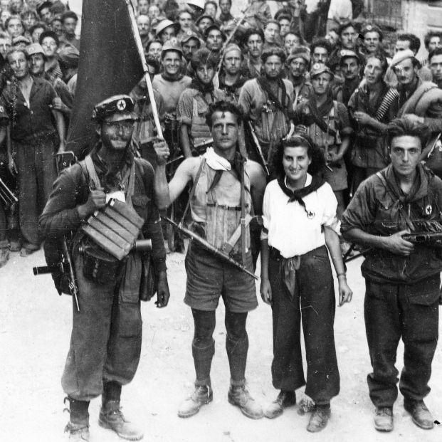 Resistencia partisana en Italia