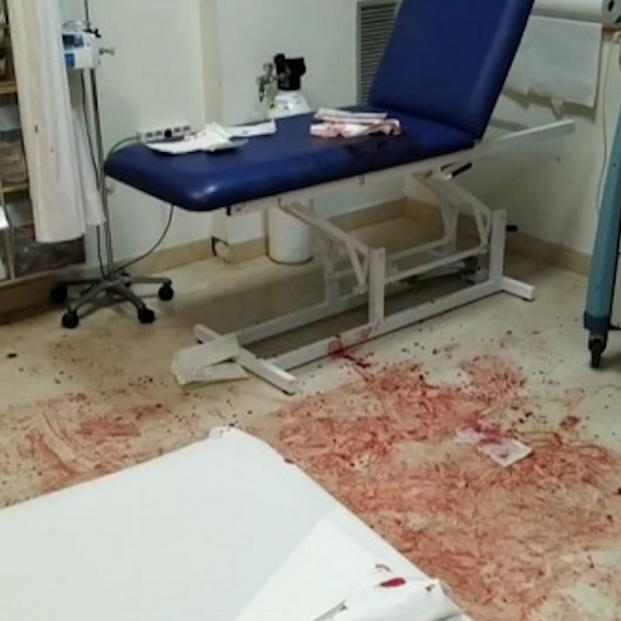 Así ha quedado un servicio de Urgencias tras la agresión de un joven a sanitarios en Murcia