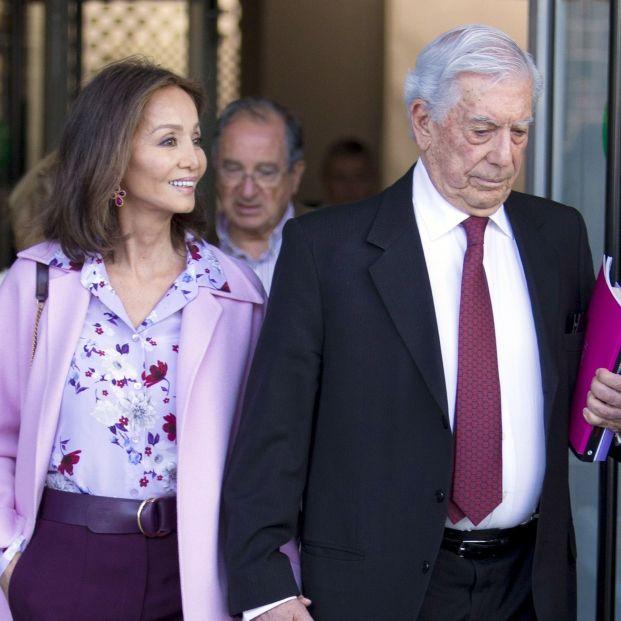 Mario Varlas Llosa (EuropaPress remitida por José Velasco Isabel Preysler y Mario Vargas Llosa)