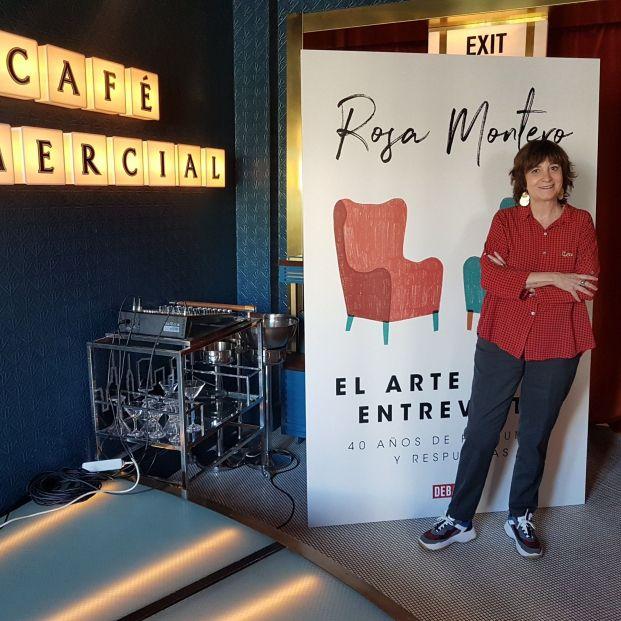 Rosa Montero. Foto: EuropaPress