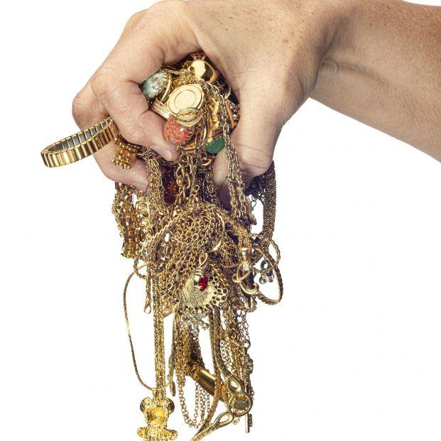 El truco definitivo para desenredar cadenas o pulseras llenas de nudos