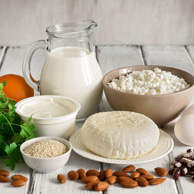 Alimentos enriquecidos con calcio, ¿son buenos? Foto: Bigstock