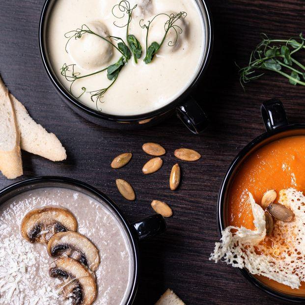 Cremas originales más allá de las clásicas de verduras Foto: Bigstock