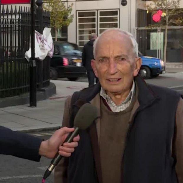 El conmovedor testimonio de un hombre de 91 años tras recibir la vacuna contra el coronavirus