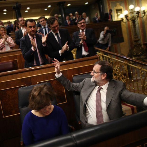 Mariano Rajoy presidiendo el Ejecutivo en el Congreso de los Diputados, llegó a tardar 314 días para formar Gobierno en España