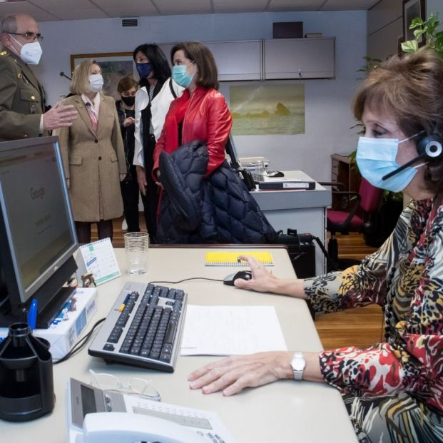 El 'Teléfono de la Esperanza' del Ejército: ningún militar jubilado solo esta Navidad