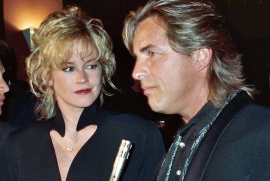Don Johnson & Melanie Griffith