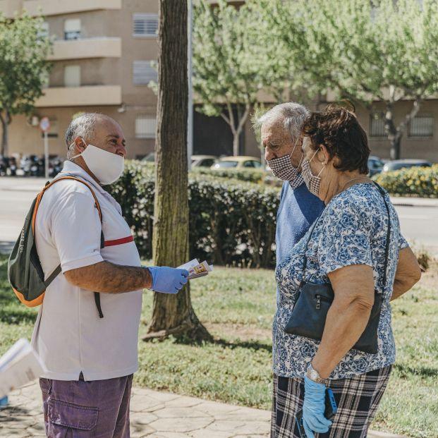 Mayores y solidarios: la crisis del Covid incrementa la participación social de este colectivo