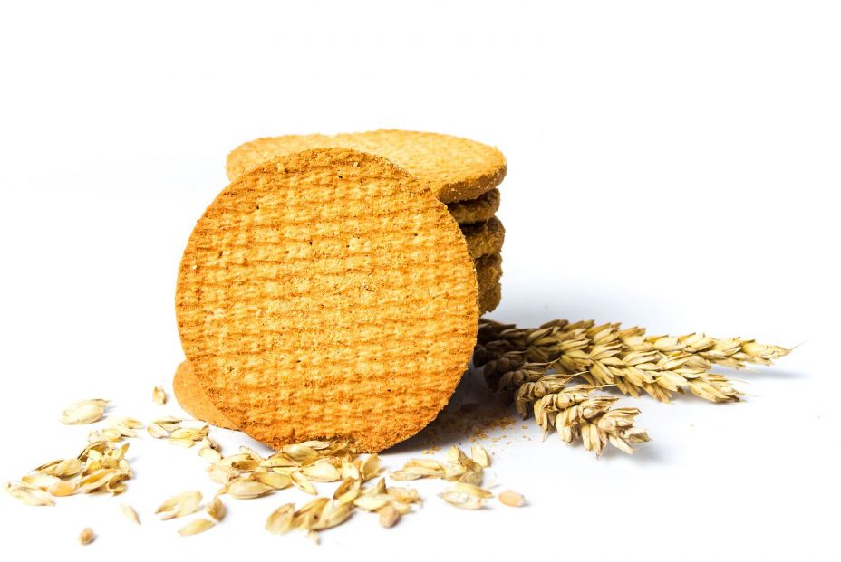 bigstock Integral Cookies With Wheat On 272412472
