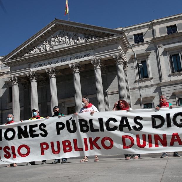 Crece el agujero de las pensiones (Foto: Eduardo Parra/Europa Press)