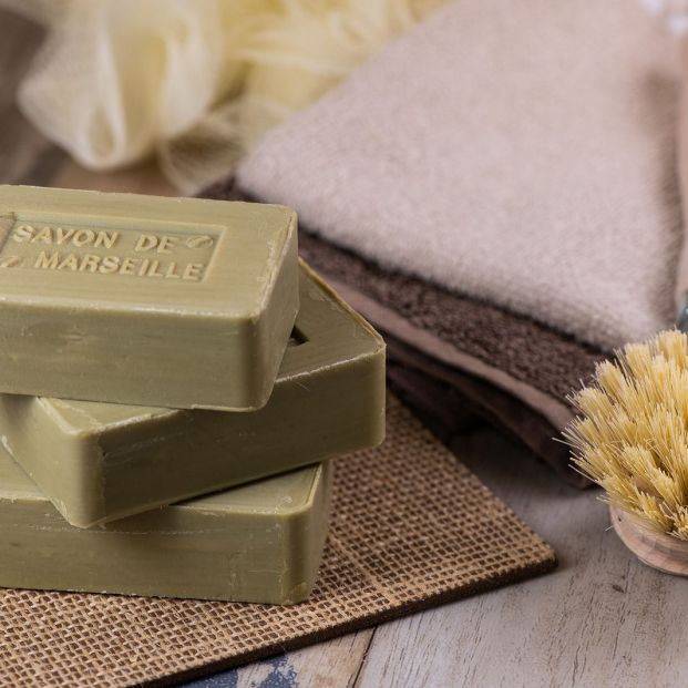 Usos del jabón de Marsella para la higiene personal, tareas domésticas y como insecticida Foto: bigstock