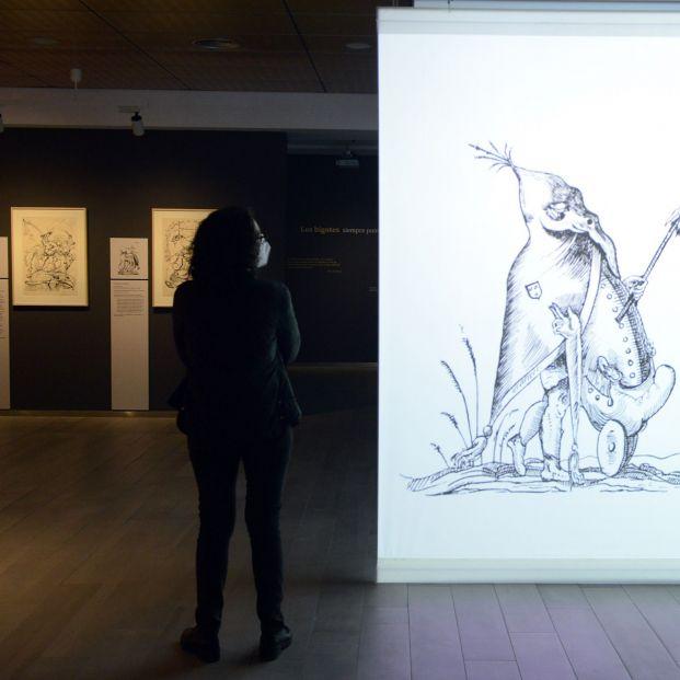 """La exposición que muestra al Dalí ilustrador con litografías """"burlescas"""" y """"fantásticas"""""""