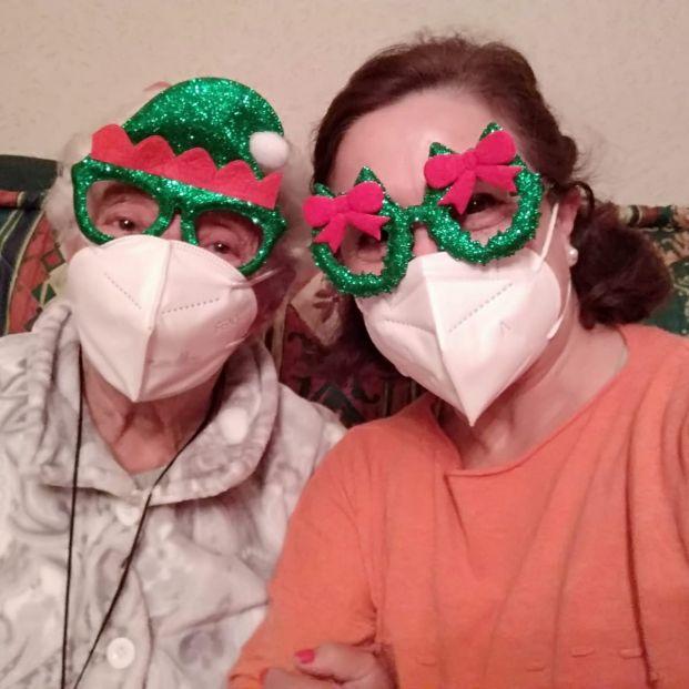 Iniciativas para combatir la soledad de las personas mayores  durante esta atípica Navidad. (Foto: Grandes Amigos)