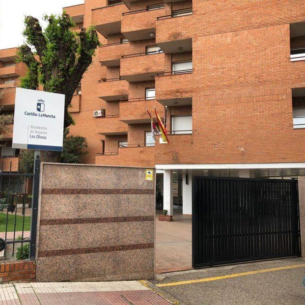 Residencia Los Olmos. Foto: Twitter Ayuntamiento de Guadalajara