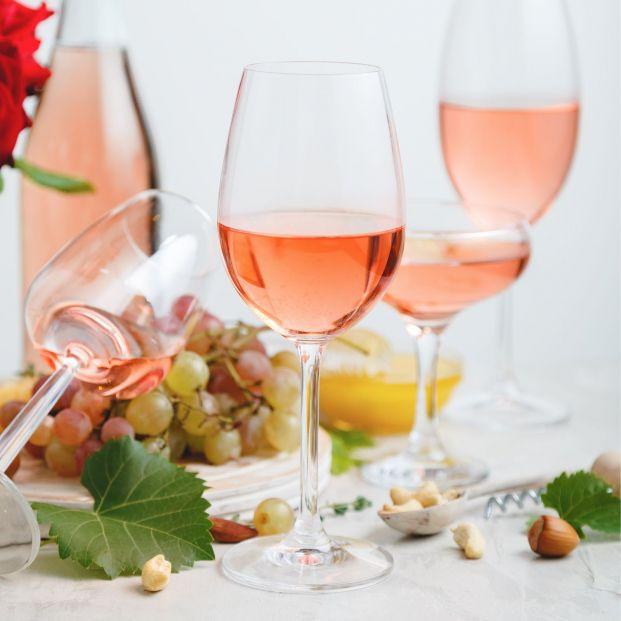 Tres vinos rosados del Lidl por menos de 5 euros