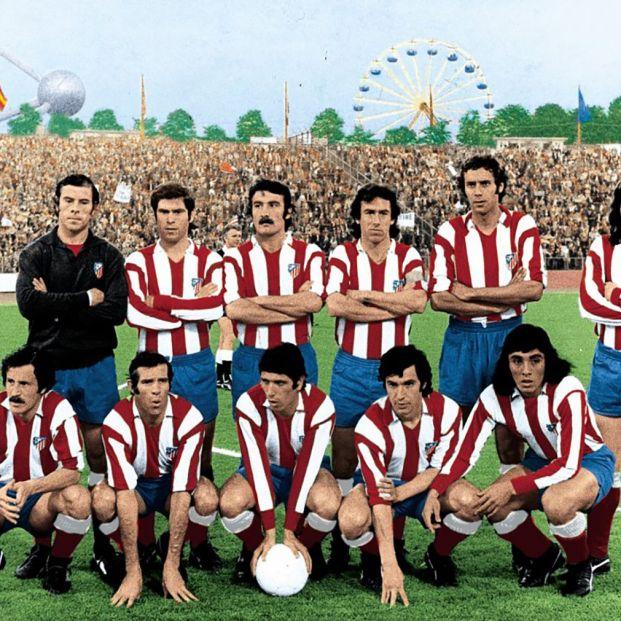 Atlético de Madrid de la Final de la Copa de Europa de 1974
