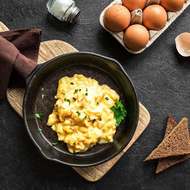 Trucos para que los huevos revueltos queden perfectos Foto:bigstock