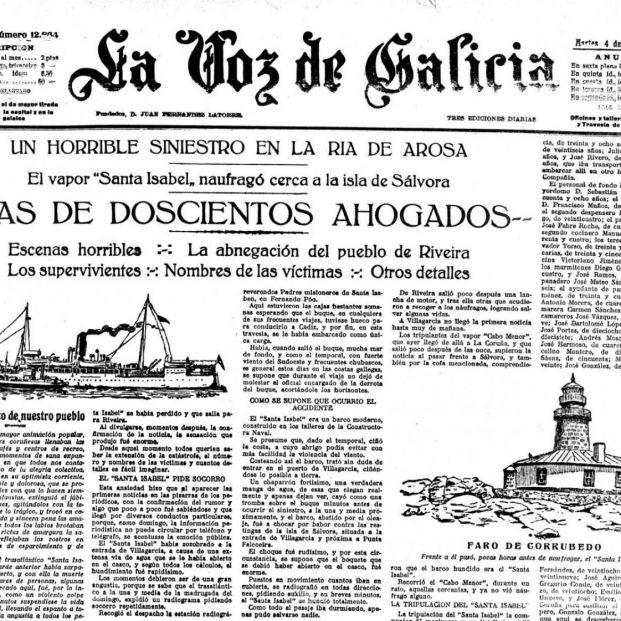 El Titánic gallego
