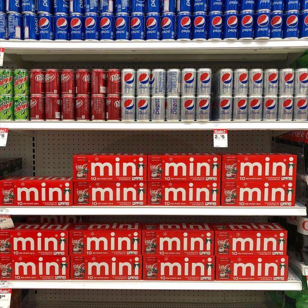 Las latas mini se hacen hueco en las estanterías de los supermercados