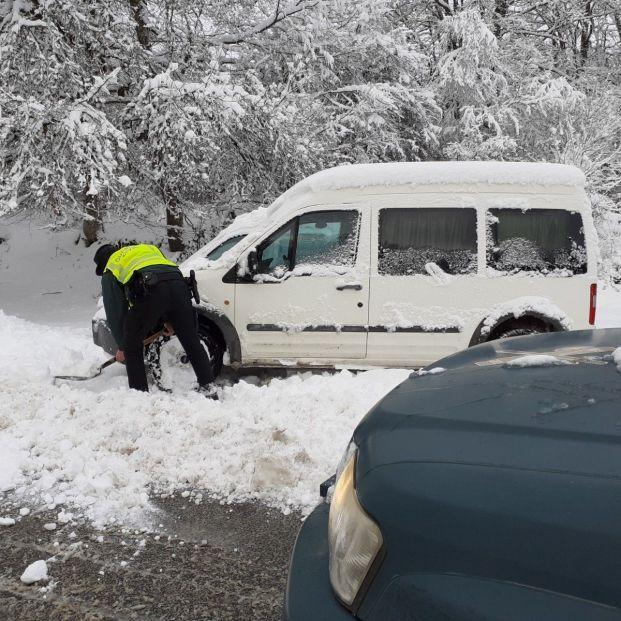 Consejos del RACE para circular con nieve